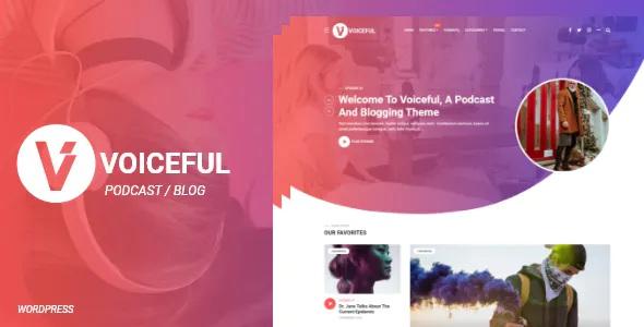 Best Podcast and Blogging WordPress Theme