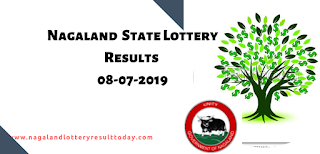 Nagaland State Lottery 08-07-2019