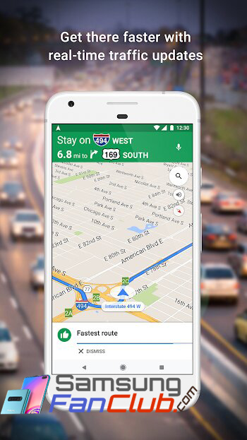 Download Google Maps & Navigate Android App for Samsung Phones