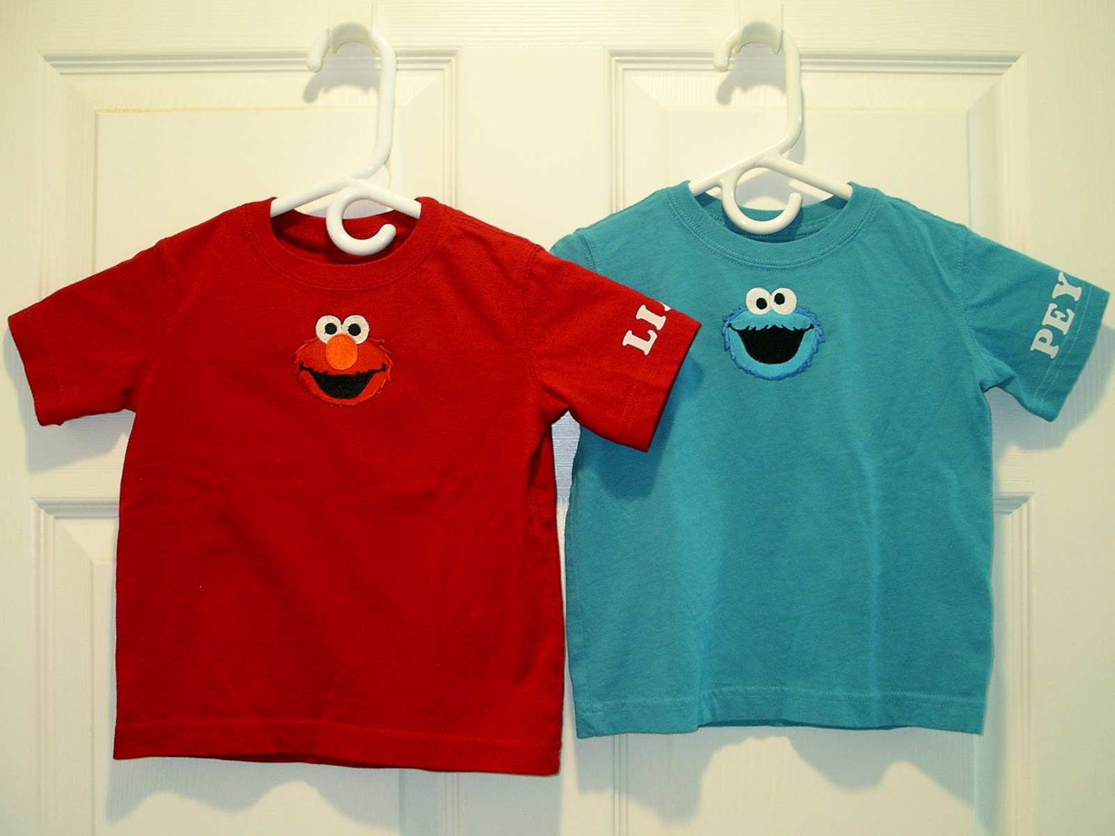 Ninas Show Tell Happy 2nd Birthday To Elmo Cookie Monster