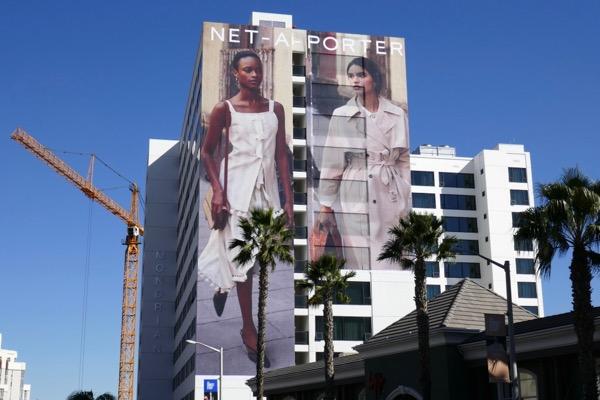 Giant Net-A-Porter Spring 2018 fashion billboard