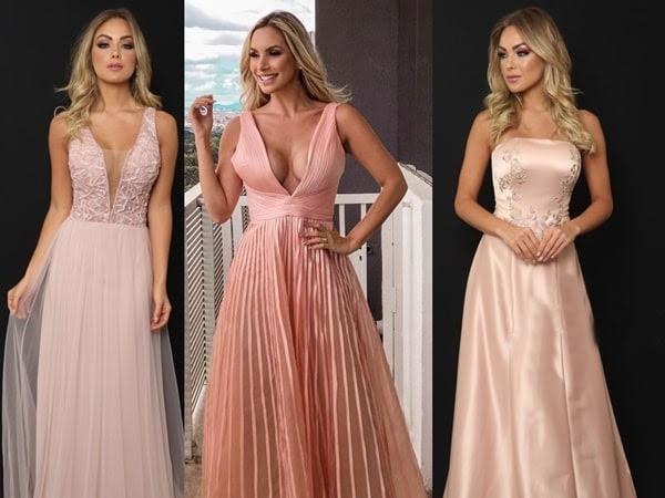 Inspiração: vestidos rosa para madrinhas!