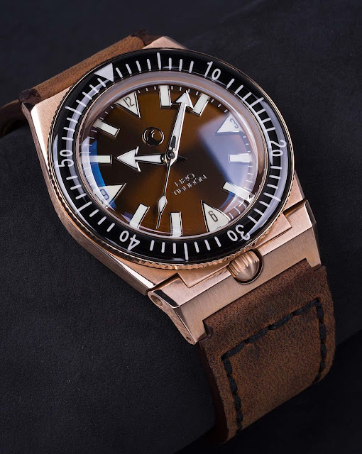 H2O Watch - H2O Tiburon Bronze with Black Dial