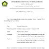 Contoh Surat Pernyataan Binaan Pondok Pesantren yang Baik Terbaru Maret 2017