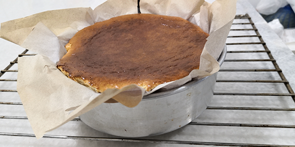 Burnt Cheese Cake: It is so Easy to Bake that you Don't have to Buy the Expensive ones from Cake shops.