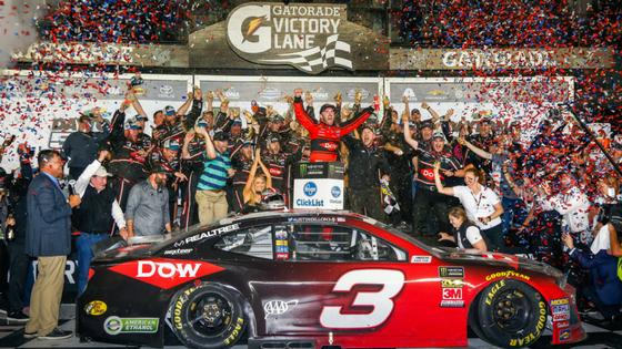 Austin Dillon Races to Victory in Camaro ZL1 at Daytona 500