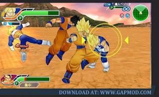 Download Dragon Ball Z Tenkaichi Tag Team PPSSPP