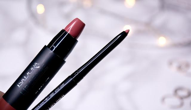 как подобрать контурный карандаш к помаде Isadora Lip Sculpting Lipliner