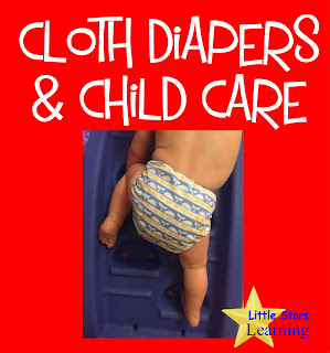 cloth diapers and child care daycare