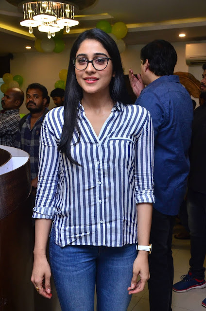 Regina Cassandra at Junior Kuppanna Restaurant Launch