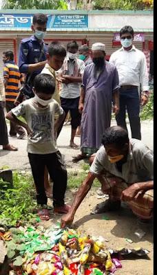 চুয়াডাঙ্গায় ভোক্তা অধিকার সংরক্ষণ অধিদপ্তরের অভিযান অব্যাহতঃ ভেজাল মালামাল জব্দ