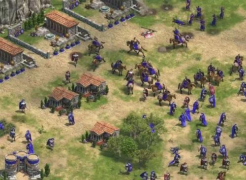 """Là 1 trong trò chơi RTS, Đế chế cũng áp dụng nguyên tắc """"kéo búa lá"""" chỉ trong phong cách thiết kế những chủng quân"""