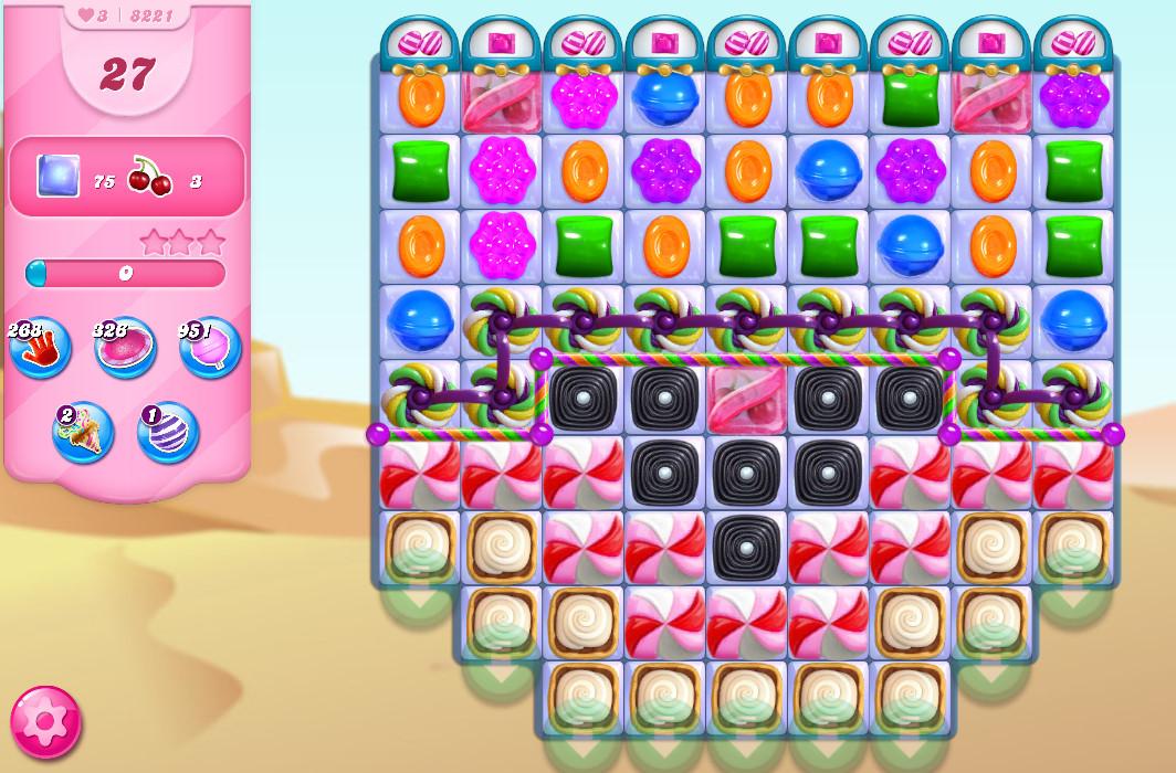 Candy Crush Saga level 8221