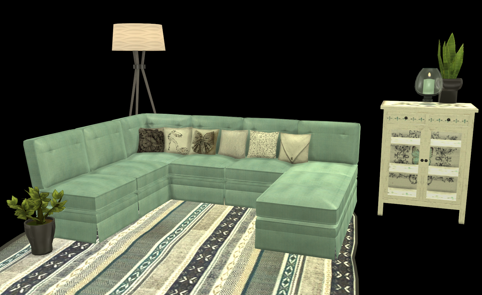 My Little The Sims 3 World Furniture Recolors Set 6