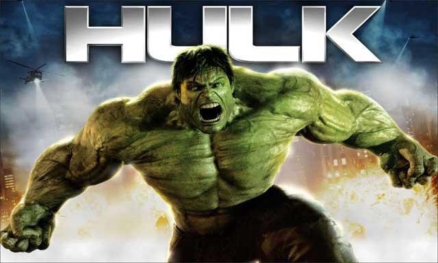 Painel para festa do Hulk
