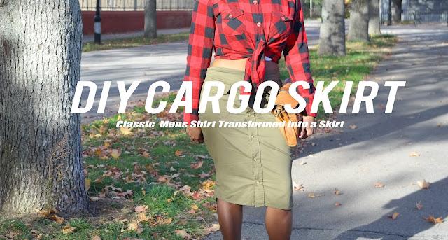 Shirt into a Skirt