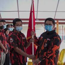 Achmad Yunus Lantik PAC Pemuda Pancasila Arjasa Sumenep