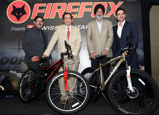 Firefox Bikes Launches Co-Branded Bikes with Swiss Military