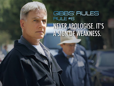 Leroy Jethro Gibbs inspiring rules