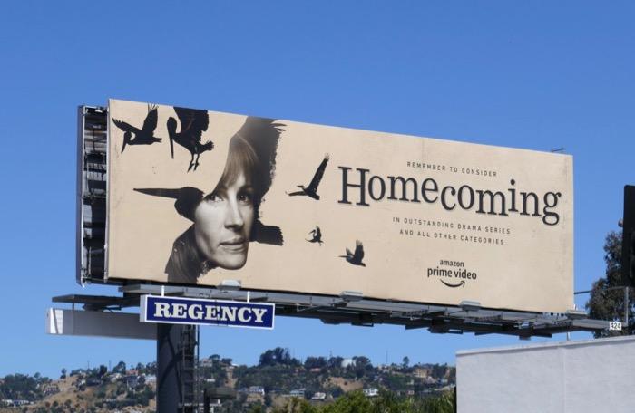 Julia Roberts Homecoming 2019 Emmy consideration billboard