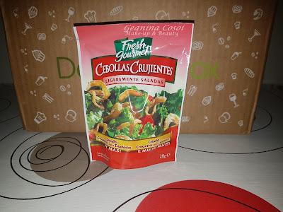 Cebollas crujientes Fresh Gourmet Caja Degustabox - Septiembre ´16