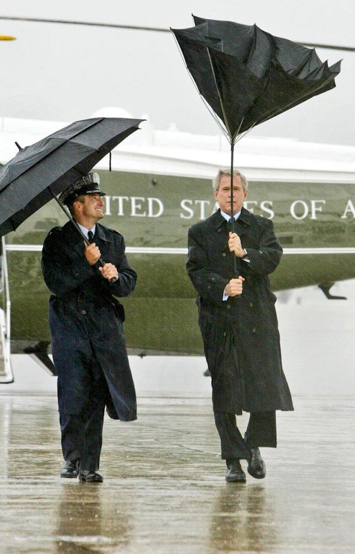 George W Bush versus Umbella