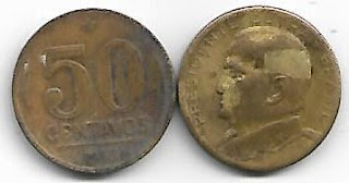50 centavos, 1953