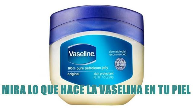 Los beneficios y límites del uso de vaselina en la cara