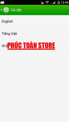 Tiếng Việt và CH play Coolpad 8720l done alt