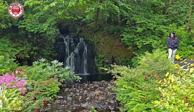 Escocia, Skye Island, jardines del castillo Dunvegan