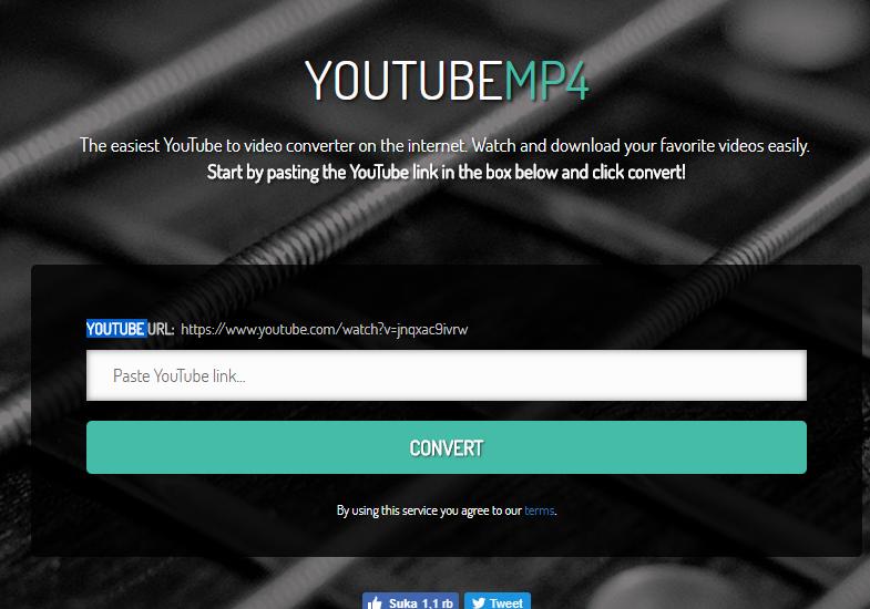 cara mendownload video youtube ke mp4