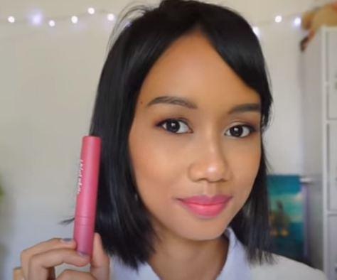 kulit sawo matang, lipstik wardah, warna lipstik, lipstik matte
