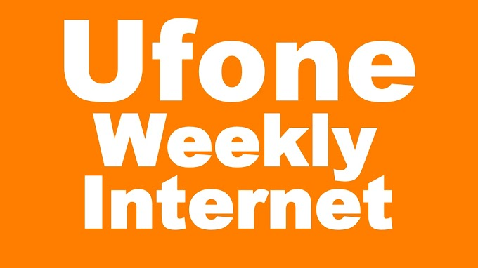 Ufone Weekly Internet Packages - Price & Details
