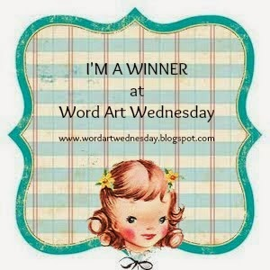 Word Art Wednesday - winner