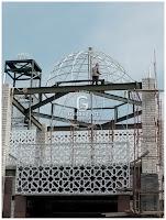 aluminium cor masjid