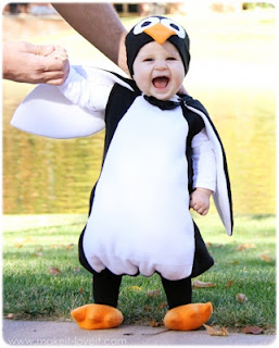 tutorial costume da pinguino