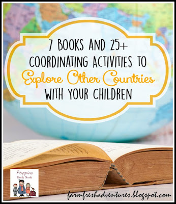 Books and Activities to Explore other Countries with Your Children