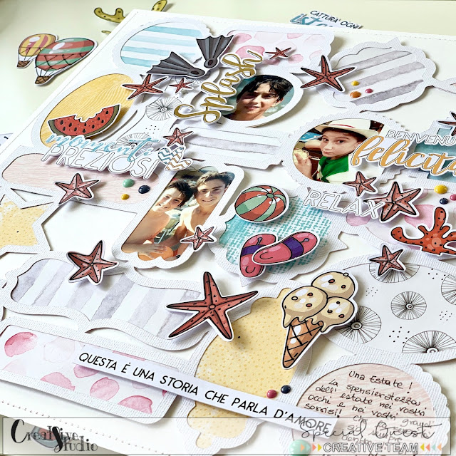 Collect Moments Layout by Angela Tombari for Creative Studio
