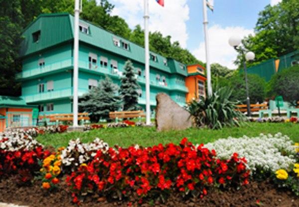 Курорт Атомска баня, Горня-Трепча. Сербия.
