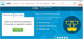 Cara menghasilkan bitcoin melalui Anonymous Ads