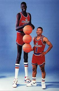 NBA tarihinin en uzun basketbolcuları - Manute Bol