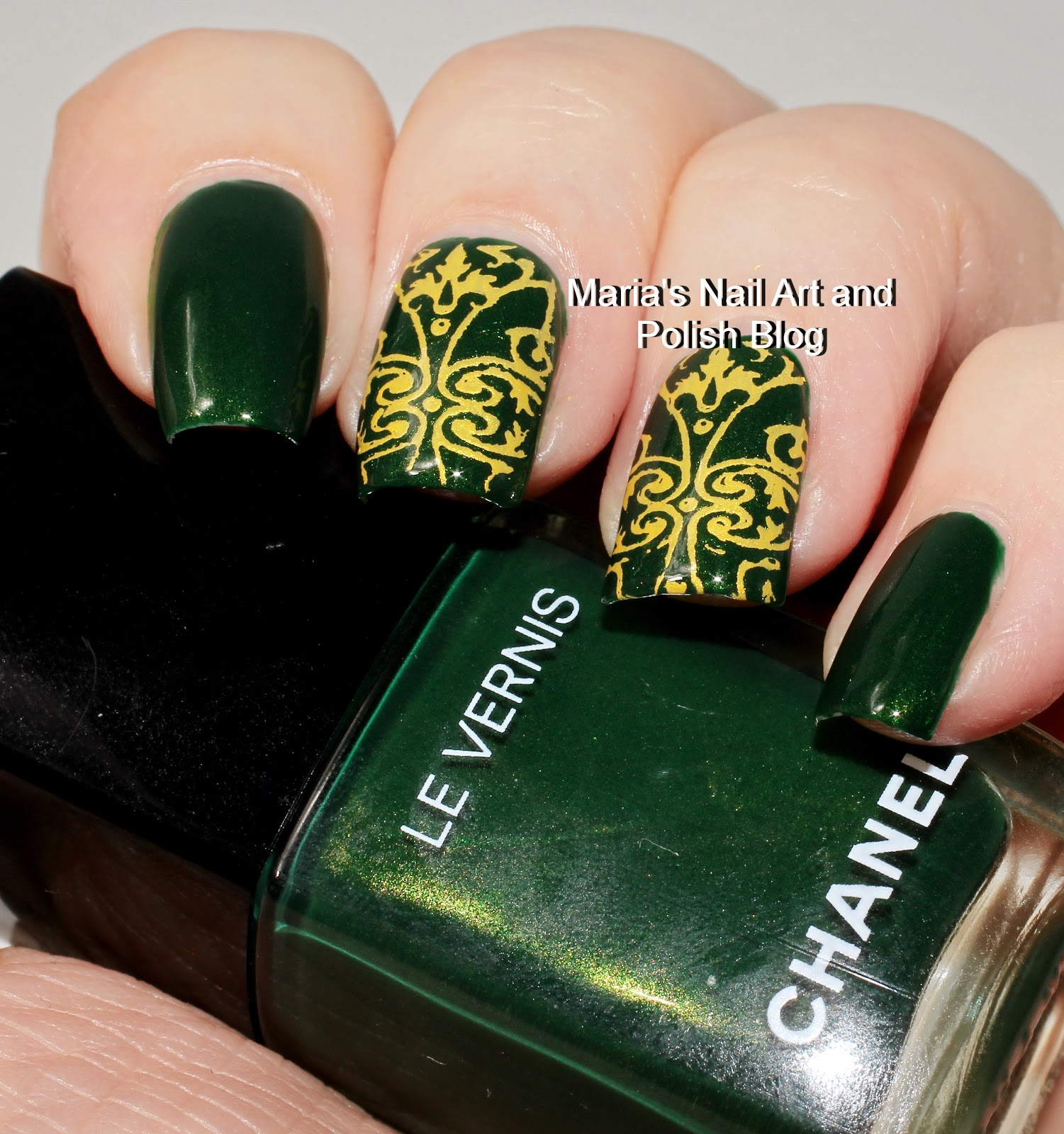Marias Nail Art and Polish Blog: My stamping journey - part 18