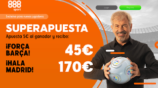 888sport superapuesta clasico copa Barcelona vs Real Madrid 6 febrero 2019