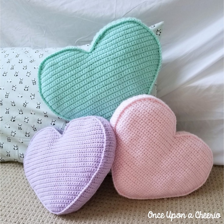 Amigurumi Love Heart Free Crochet Pattern | 735x735