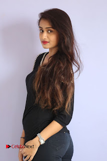 Actress Kiran Chetwani Pictures in Black Jeans at Lakshmidevi Samarpinchu Nede Chudandi Platinum Disc Function  0062.JPG