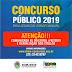 Comunicado: concurso público -2019 Bom Jesus do Itabapoana/Rj