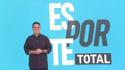 Fernando Fernandes comandará o Esporte Total nas madrugadas da Band. Crédito: Reprodução/Band