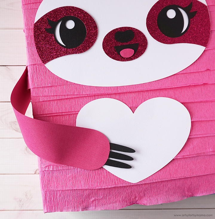 Sloth Valentine Card Box