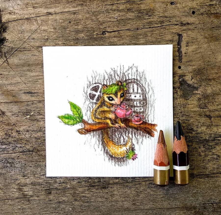 09-Little-flying-squirrel-Tatyana-Romanova-www-designstack-co