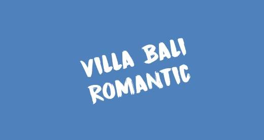 Villa Bali Romantic